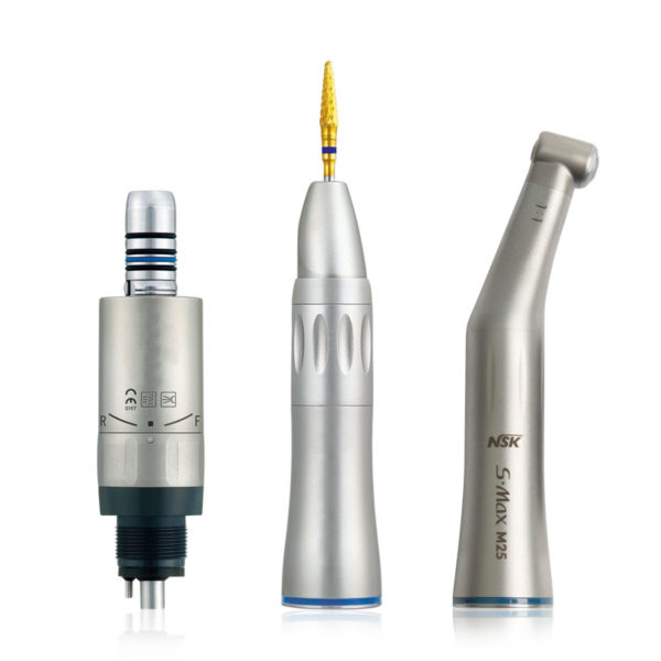 Low Speed Dental Handpiece with integrated Cooling System