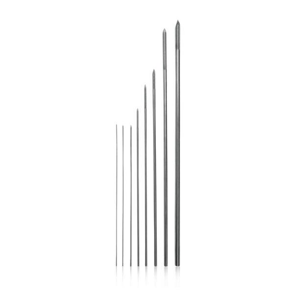 Negative Profile Pins - End Thread