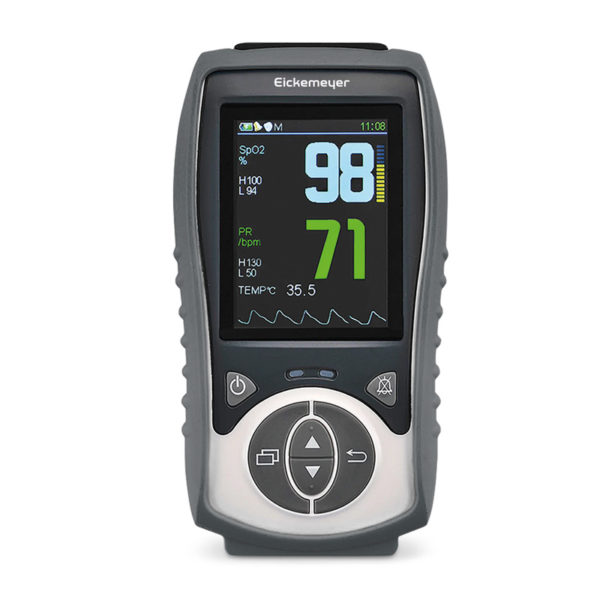 LifeVet PT Pulse Oximeter with Temperature Probe