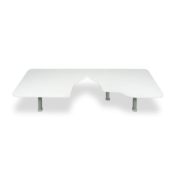 Ultrasound Table Attachment with Cutout