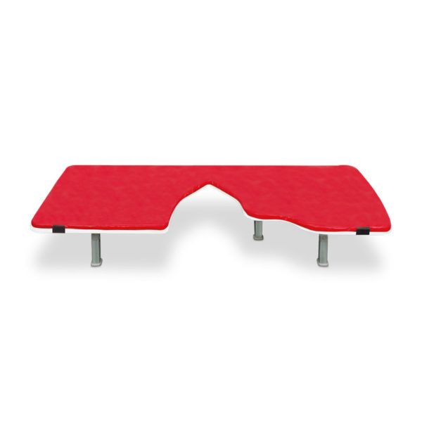 Ultrasound Table Mat with Cutout, Velcro straps for a secure fit for item number 303976
